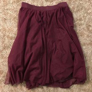 Knee length skirt - Torrid size 0